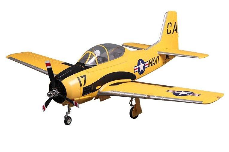"FMS 1400mm (55.1"") T-28D V4 Trojan Yellow PNP"