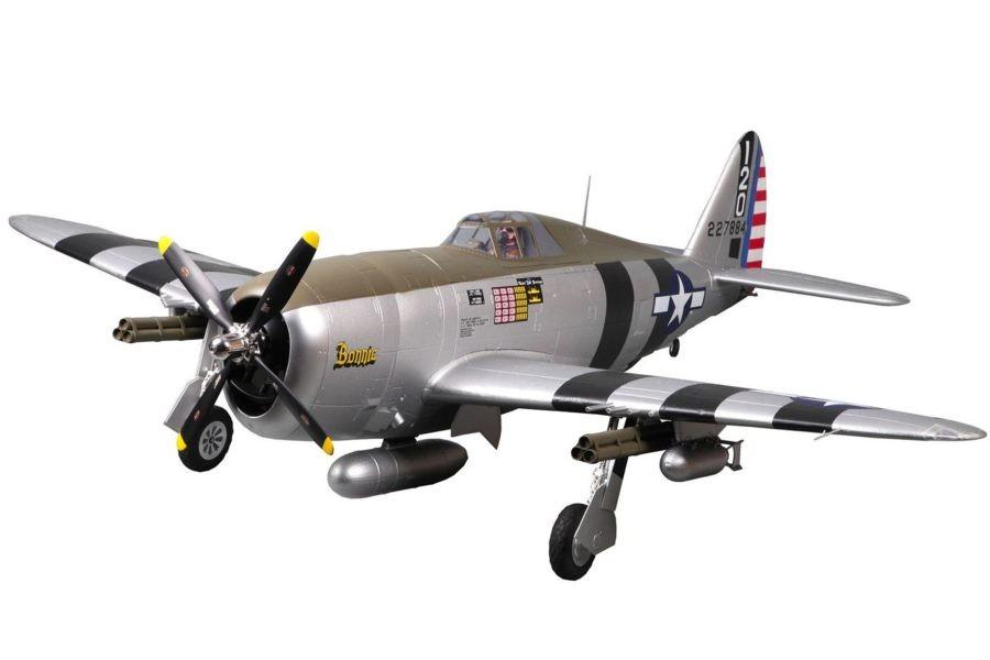 "FMS 1500mm (59.1"") P-47 Razorback Bonnie PNP"