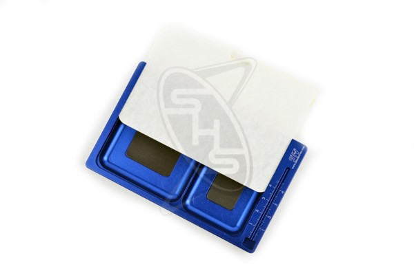 SINGAHOBBY Magnetic Screw Box with Cover (Blue)