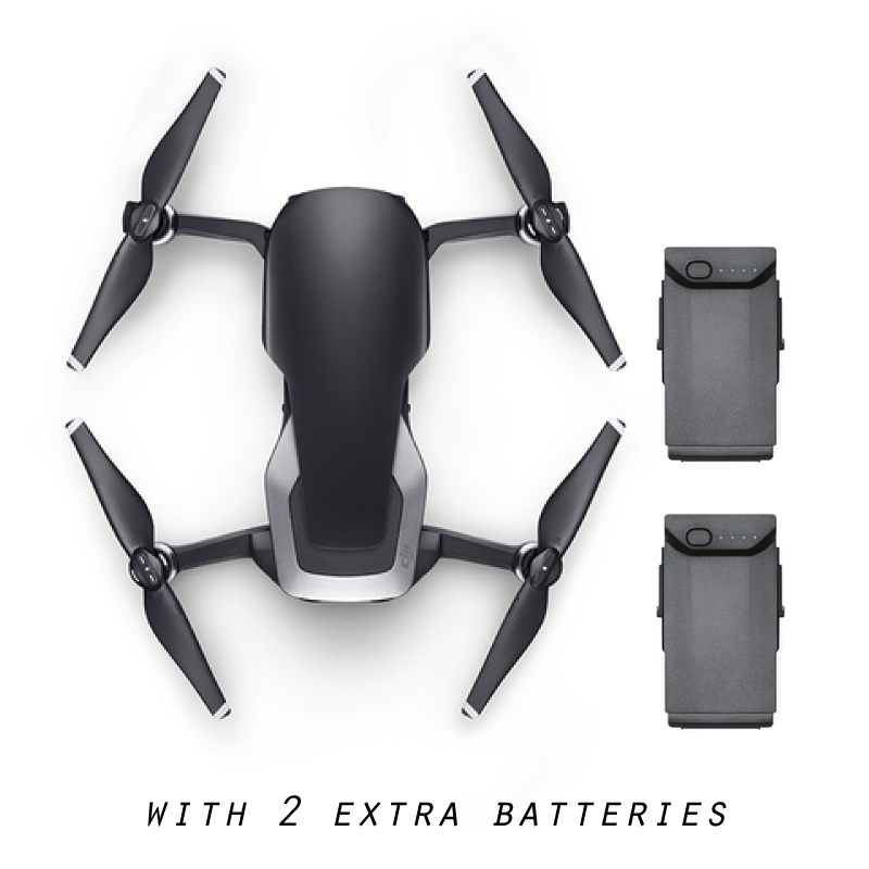 Dji Mavic Air With 1 Extra Battery Onyx Black