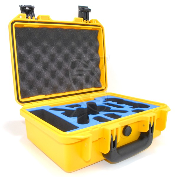 SINGAHOBBY Plastic Case for DJI Spark (Yellow)