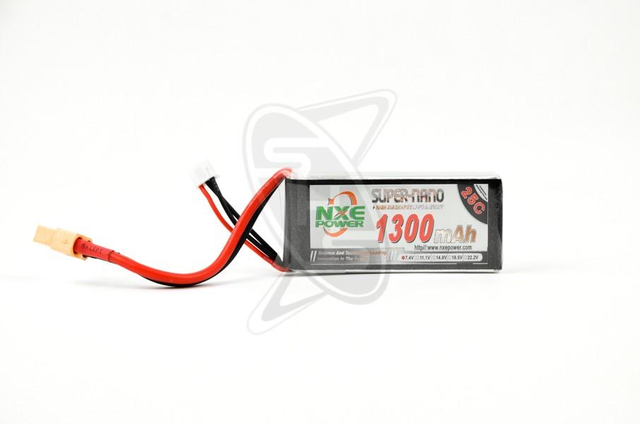 NXE 2-Cells 1300mAh 25C LiPo-XT60