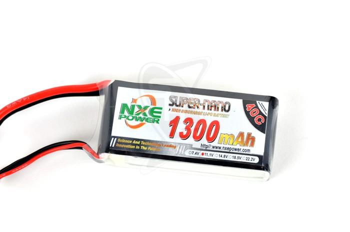 NXE 3-Cells 1300mAh 40C LiPo-XT60