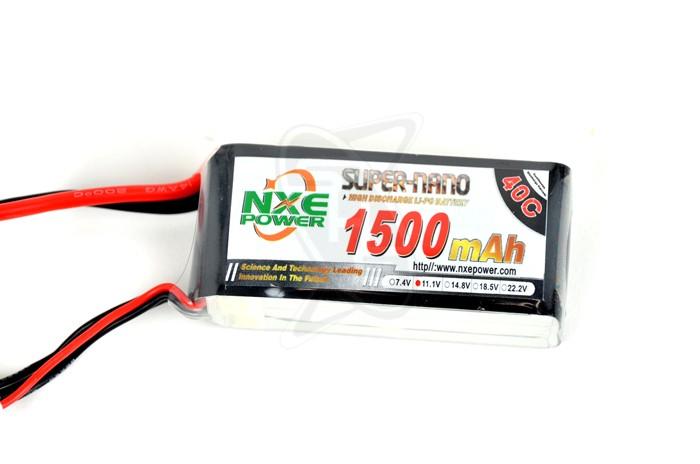 NXE 3-Cells 1500mAh 40C LiPo-XT60