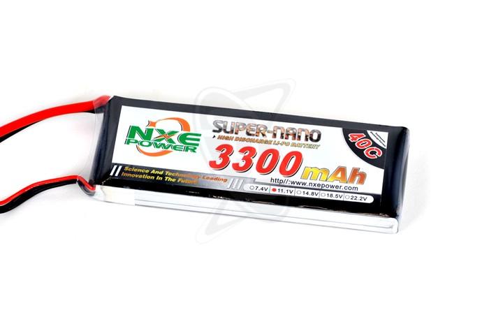 NXE 3-Cells 3300mAh 40C LiPo-XT60
