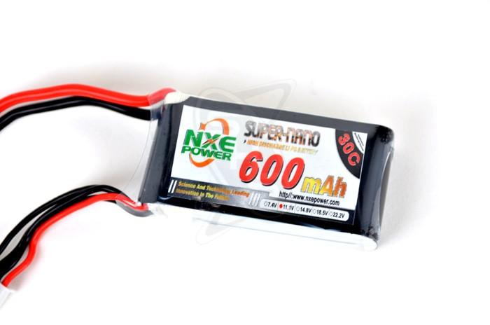 NXE 3-Cells 600mAh 30C LiPo-XT30