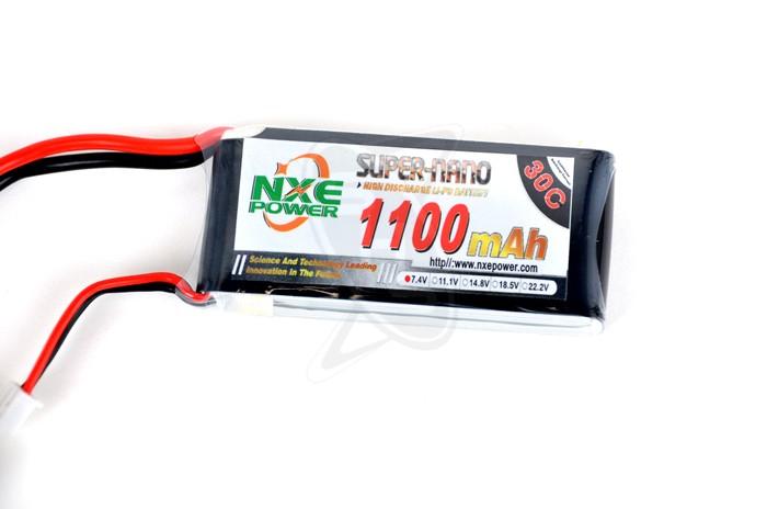 NXE 2-Cells 1100mAh 30C LiPo-XT60