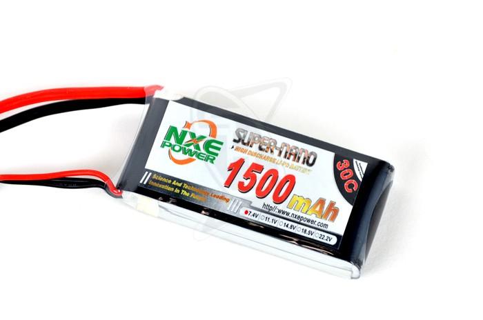 NXE 2-Cells 1500mAh 30C LiPo-XT60