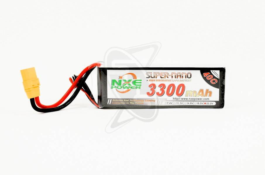 NXE 6-Cells 3300mAh 40C LiPo-XT90