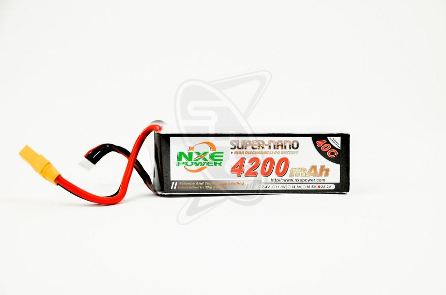 NXE 6-Cells 4200mAh 40C LiPo-XT90