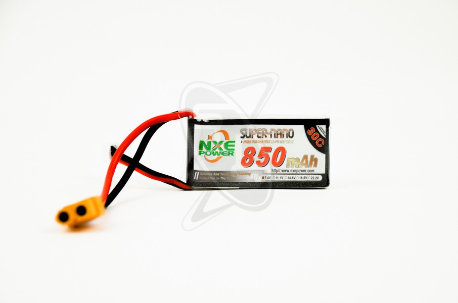 NXE 2-Cells 850mAh 30C LiPo-XT60