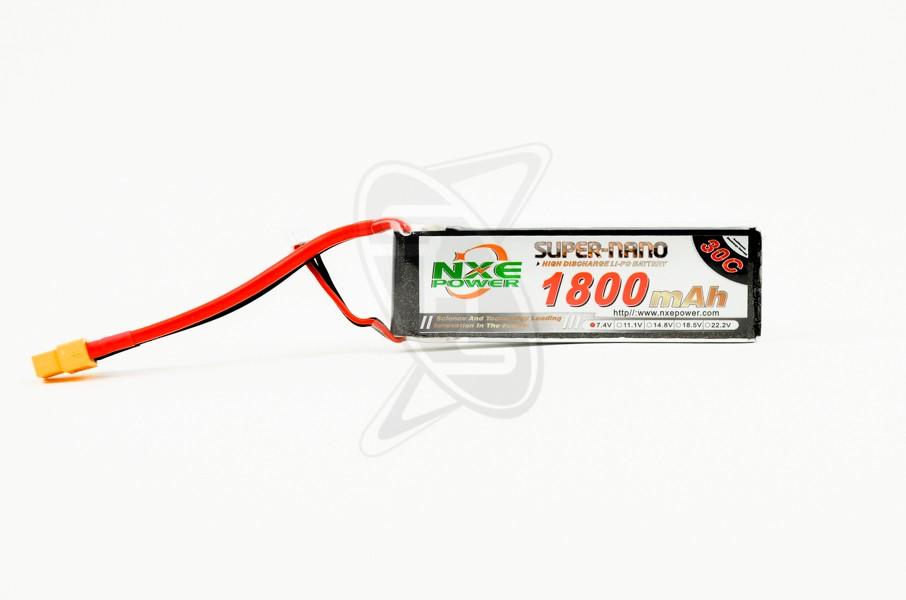 NXE 2-Cells 1800mAh 30C LiPo-XT60