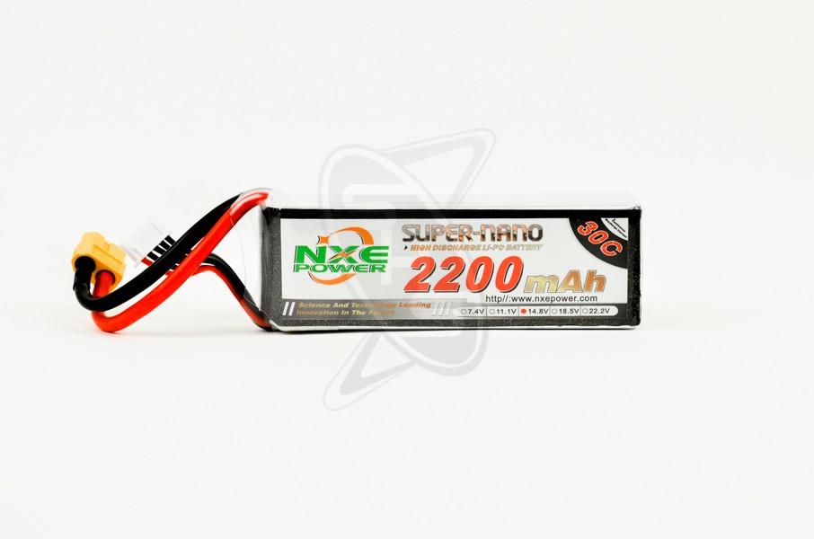 NXE 4-Cells 2200mAh 30C LiPo-XT60