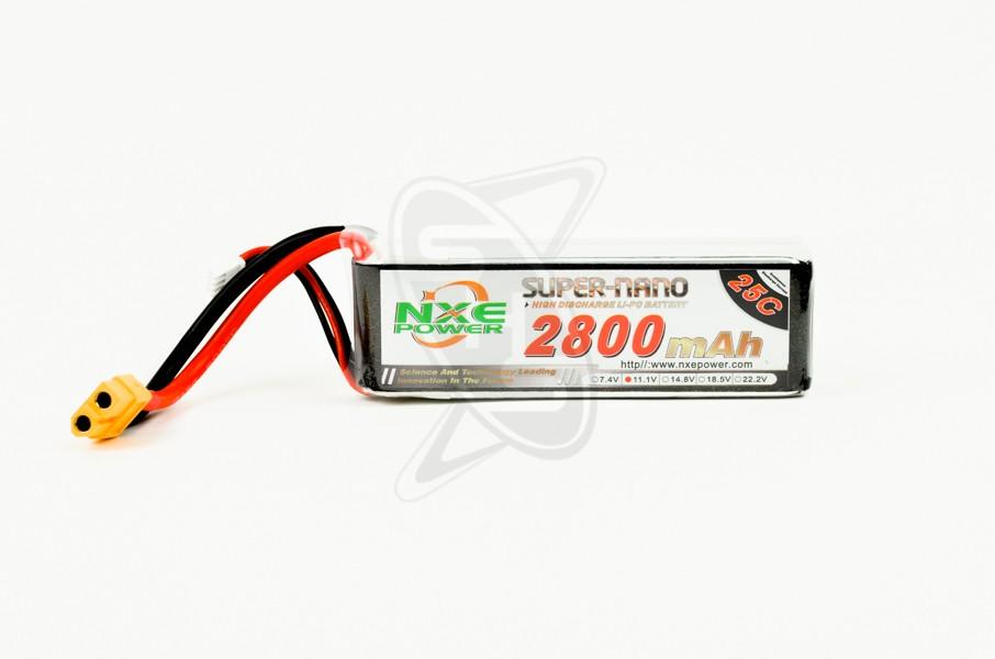 NXE 3-Cells 2800mAh 25C LiPo-XT60