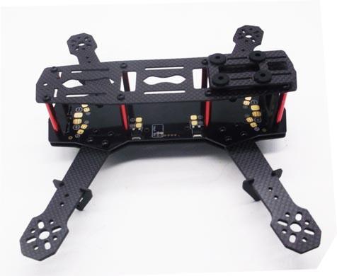 SIGLO QAV250 Carbon Fiber Frame with PCB