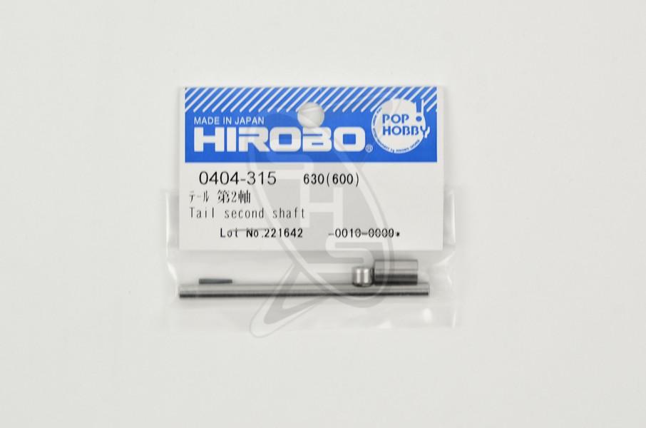 HIROBO 0404-315 Tail Second Shaft