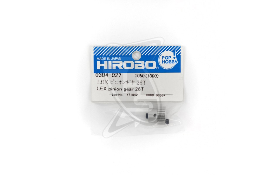 HIROBO 0304-027 LEX Pinion Gear 26T