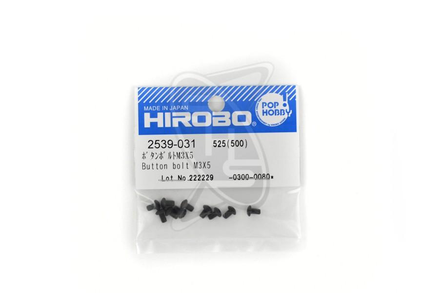 HIROBO 2539-031 Button Bolt M3X5