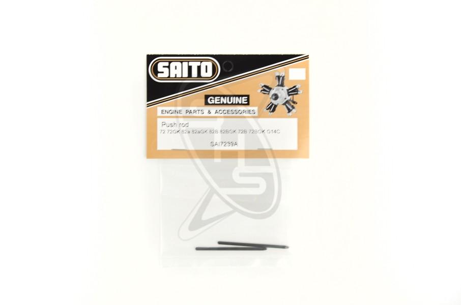 SAITO 72-39A Push Rod (2) for FG-14C/82B