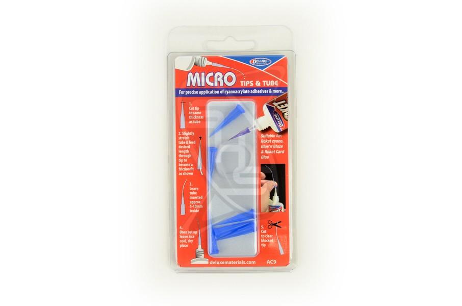 DELUXE AC9 Micro Tips & Tube