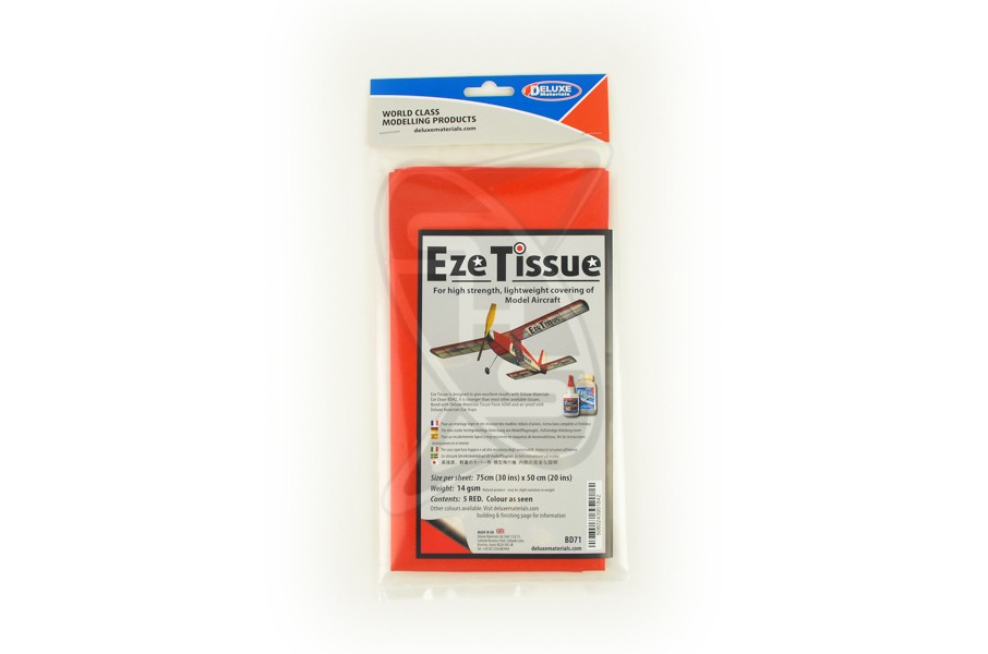DELUXE EZE Tissue (Red)