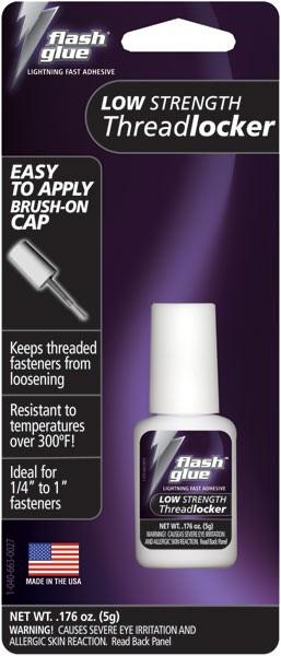 Flash Glue Purple Low Strength Threadlocker (5g)