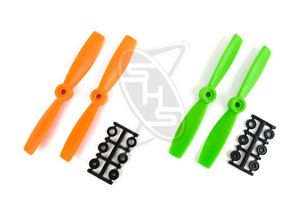 HQPROPS Bullnose Propeller 5x4.5 (Orange)