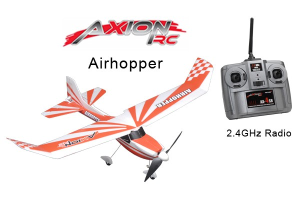 AxionRC Airhopper RTF with 2.4GHz 4-Channel Radio (Red)