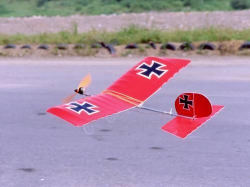 GWS Slow Stick Glider Red (BL2212 Motor)