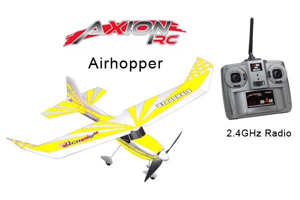 AxionRC Airhopper RTF with 2.4GHz 4-Channel Radio (Yellow)