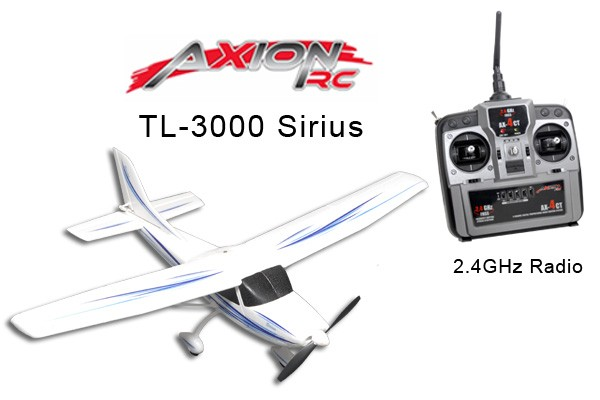 AxionRC TL-3000 Sirius RTF with 2.4GHz 4-Channel Radio (Mode 1)