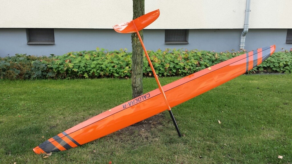 LE-COMPOSITES Caldera R - F3F (Orange) (Lowest actual shipping cost would be advised separately)