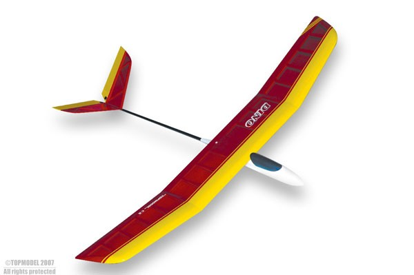Topmodel Dino V-Tail Glider 1.2m ARF (Lowest actual shipping cost would be advised separately)