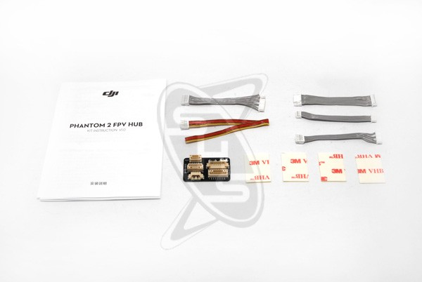 DJI Phantom 2 FPV Cables & Hub Parts (Part No. 9)