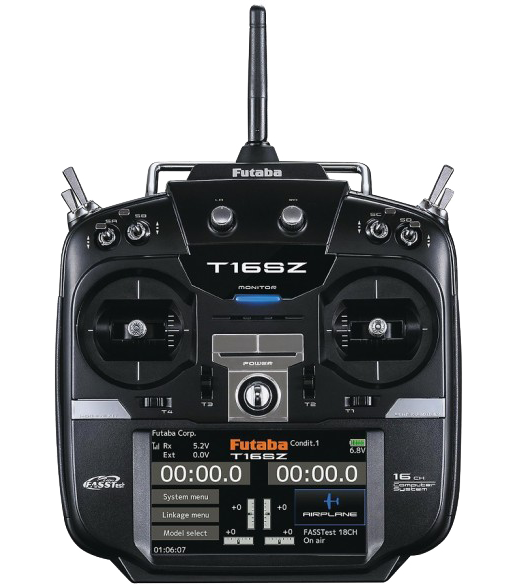 FUTABA 16SZ-H with R7008SB x 2 (Mode 2)