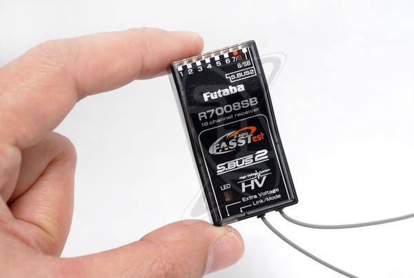 Futaba R7008SB 2.4GHz FASSTest 18-Channel Receiver