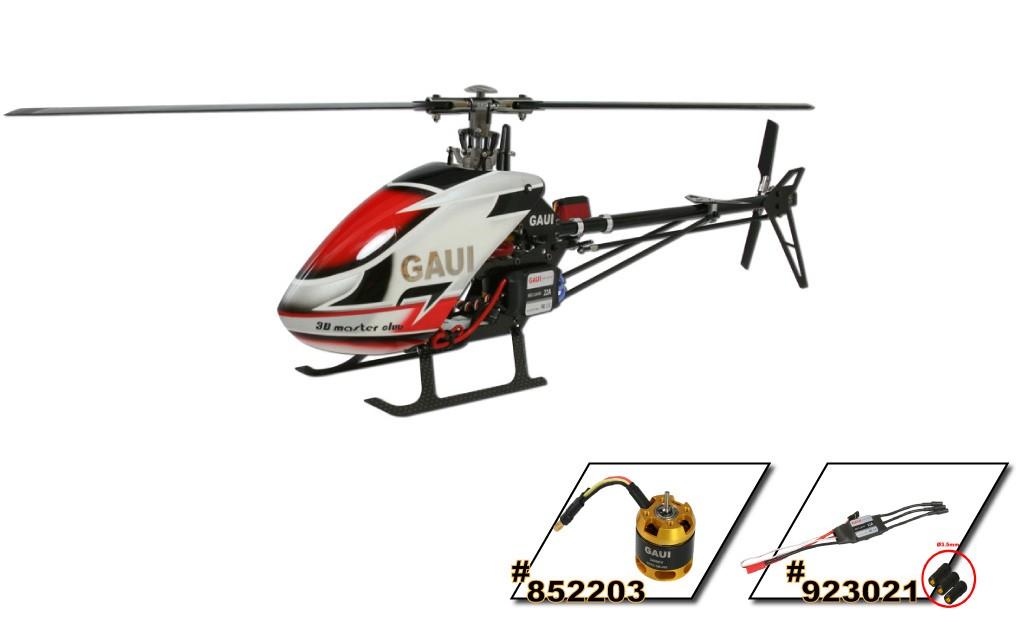 Gaui 212003 X2 Flybarless Helicopter (Kit)