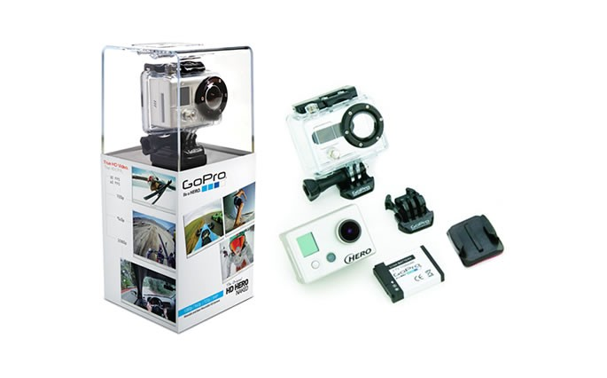 GoPro HD HERO Naked Camcorder - Silver 185323000705   eBay