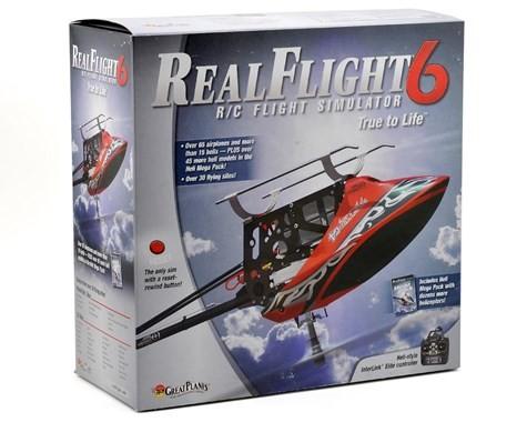 GREAT PLANES RealFlight 6.0 Flight Simulator with Transmitter