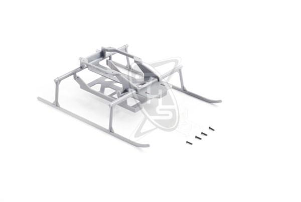 Hirobo 0301-035 SR Lama Skids Gray (XRB)