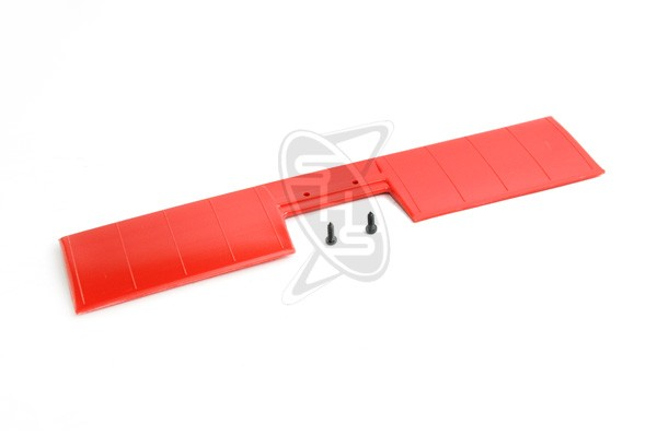 Hirobo 0402-351 Lama Horizontal Tail Blade (Red)