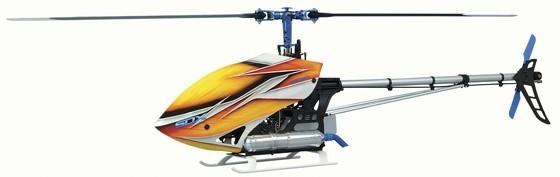 Hirobo 0403-968 SDX D3 SWM OP Kit (Flybarless SL RotorHead)