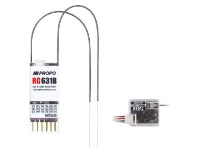 JR 03426 RG631B DMSS 2.4GHz 6-channel Receiver