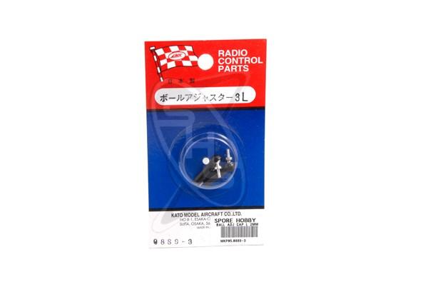 MK 0889-3 Ball Adjuster Cap L 2mm