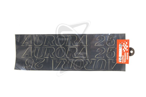 MK 12002 Name Sticker Aurora 25