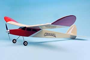 OK MODEL 12154 Olympia Balsa Kit (Pre-Assembled)