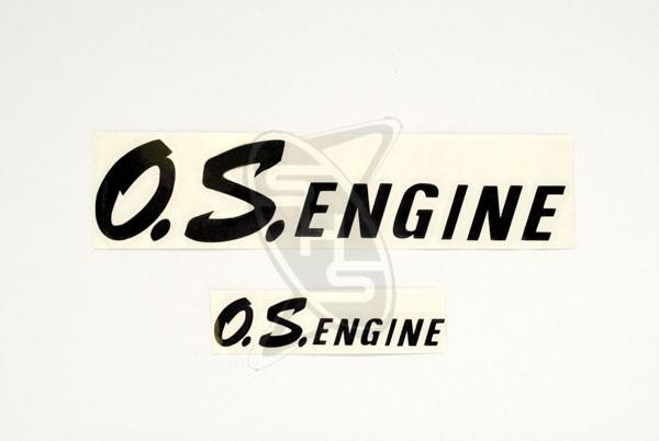 OS Engine Logo Decals - Black