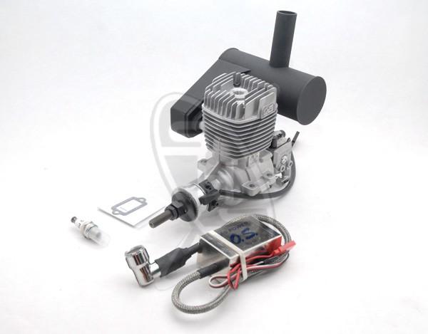 OS GT22 Gasoline Engine with E-5040 Silencer