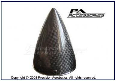 "Precision Aerobatics 2.17"" Carbon Fiber Spinner"