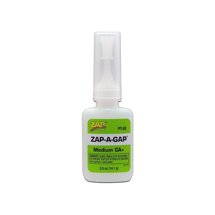 Pacer Zap Medium CA+ Zap-A-Gap (1/2 oz)